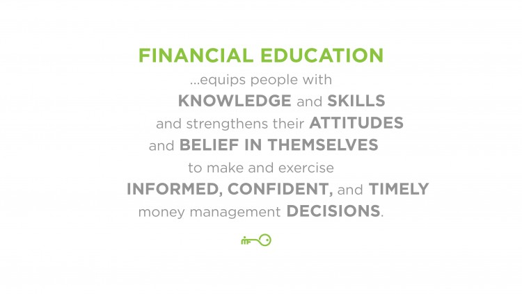 financial education Awareness of the importance of financial education is gaining momentum among policy makers in economies the world over the oecd and its international network on financial education (infe) provide a unique policy forum for governments to exchange views and experiences on this issue.